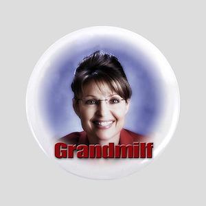 """Sarah Palin, huh? 3.5"""" Button"""