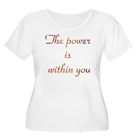 Power Within #7 Women's Plus Size Scoop Neck T