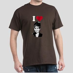 I Love Sarah Palin Dark T-Shirt