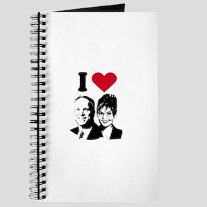 I Love Mccain Palin Journal