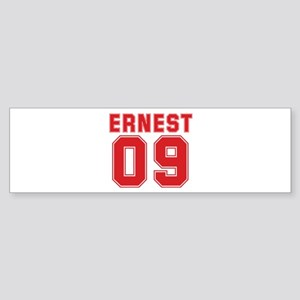ERNEST 09 Bumper Sticker