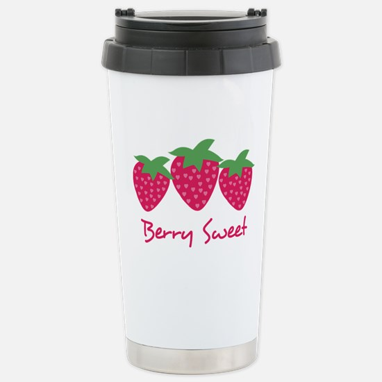 Berry Sweet Stainless Steel Travel Mug