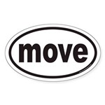 move Euro Oval Sticker