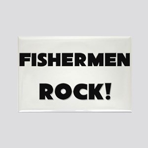 Fishers ROCK Rectangle Magnet
