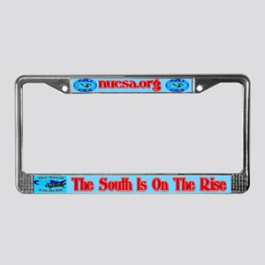 On The Rise License Plate Frame