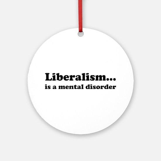 Liberalism Ornament (Round)