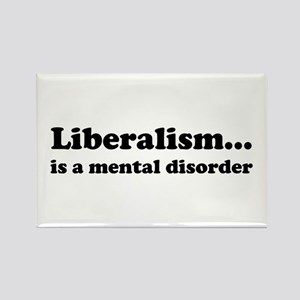Liberalism Rectangle Magnet