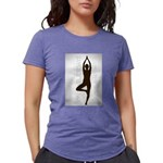 Womens Tri-Blend T-Shirt Tuesday Tree Pose