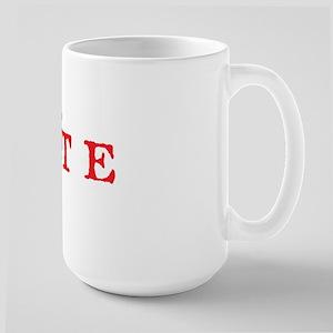 Vote 1 Large Mug