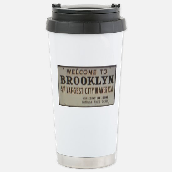 Welcome to Brooklyn Stainless Steel Travel Mug