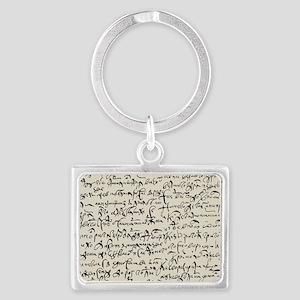 Ancient Manuscript Keychains
