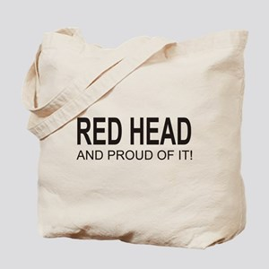The Proud Red Head Tote Bag