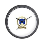 GAUTHIER Family Crest Wall Clock