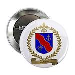 GAREAU Family Crest Button