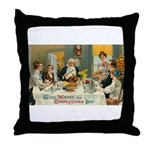 Good Thanksgiving Wishes Throw Pillow