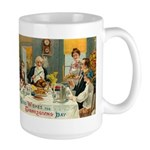 Good Thanksgiving Wishes Large Mug