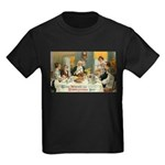Good Thanksgiving Wishes Kids Dark T-Shirt