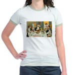 Good Thanksgiving Wishes Jr. Ringer T-Shirt