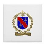 GAREAU Family Crest Tile Coaster