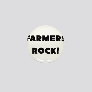 Farmers ROCK Mini Button