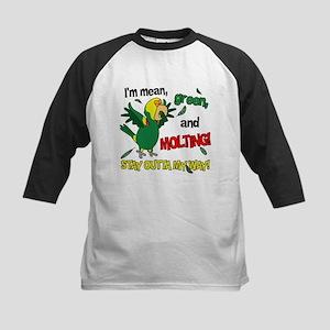 Molting DYH Amazon Parrot Kids Baseball Jersey