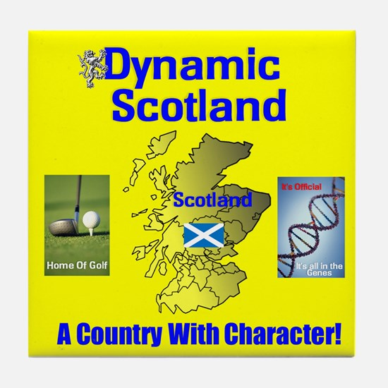 Dynamic Scotland News. Tile Coaster
