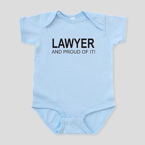 The Proud Lawyer Infant Bodysuit