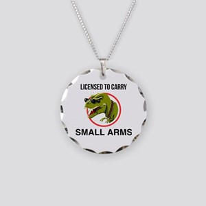 T-Rex licensed to carry smal Necklace Circle Charm