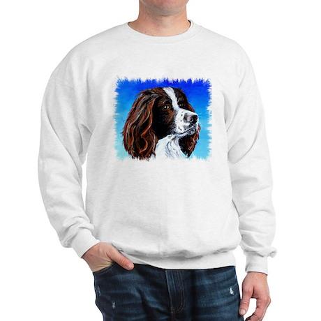 Springer Spaniel Portrait Sweatshirt