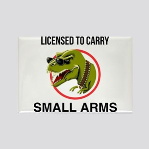 T-Rex licensed to carry small arms Magnets