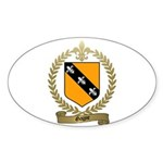 GAGNE Family Crest Oval Sticker