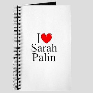 """I Love (Heart) Sarah Palin"" Journal"