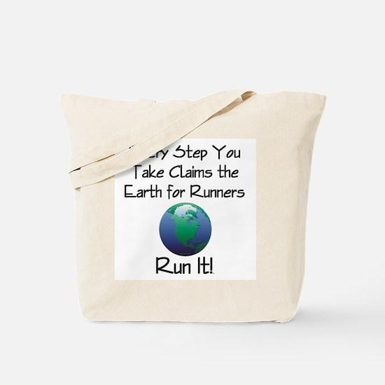 TOP Run Earth Tote Bag