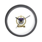 FUGERE Family Crest Wall Clock