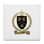 FRIGON Family Crest Tile Coaster