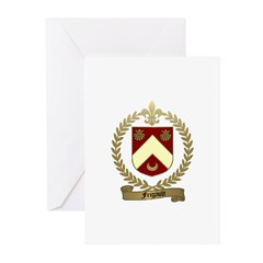 FRIGAULT Family Crest Greeting Cards (Pk of 10