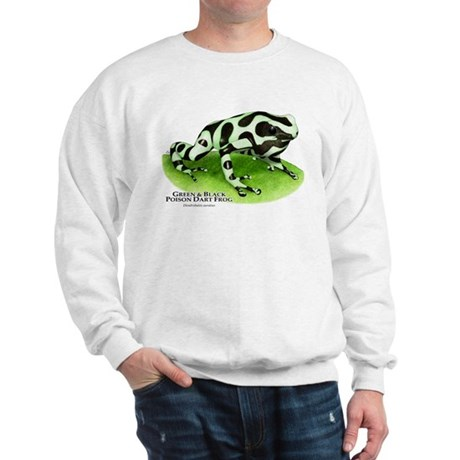 Green & Black Poison Dart Fro Sweatshirt