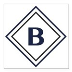 Bentley Diamond Square Car Magnet 3