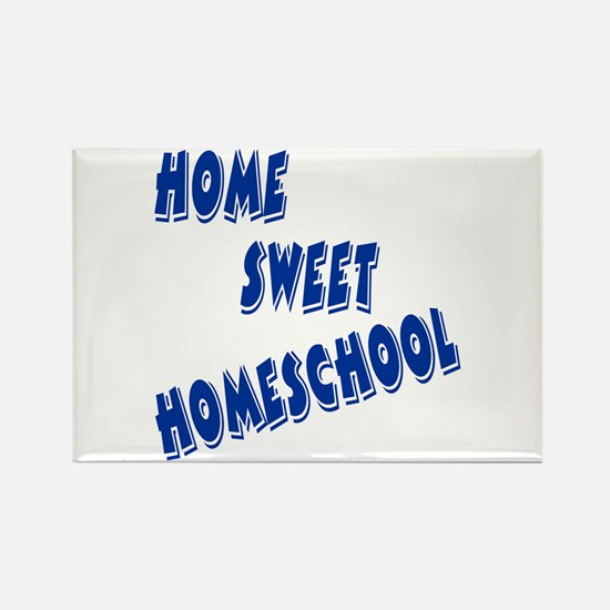 Home Sweet Homeschool Rectangle Magnet