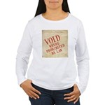 Bill of Rights is Void Women's Long Sleeve T-Shirt