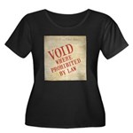 Bill of Rights is Void Women's Plus Size Scoop Nec