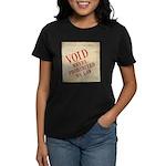 Bill of Rights is Void Women's Dark T-Shirt