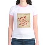 Bill of Rights is Void Jr. Ringer T-Shirt