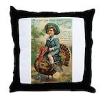 Glad Thanksgiving Throw Pillow
