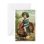 Glad Thanksgiving Greeting Card