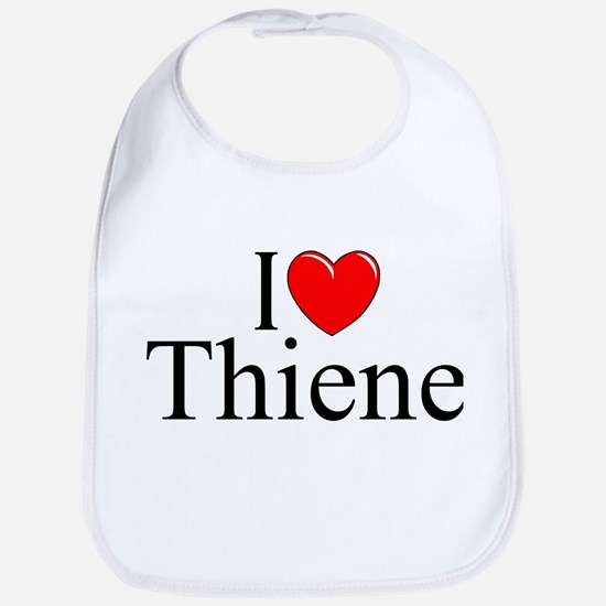 """I Love (Heart) Thiene"" Bib"