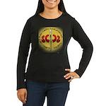 YelloLogo Women's Long Sleeve Dark T-Shirt