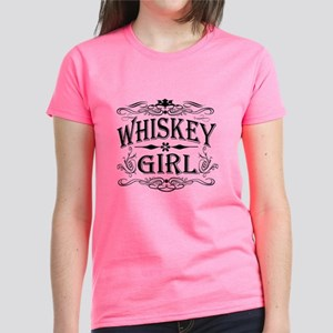 Vintage Whiskey Girl Women's Dark T-Shirt