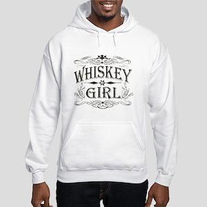 Vintage Whiskey Girl Hooded Sweatshirt