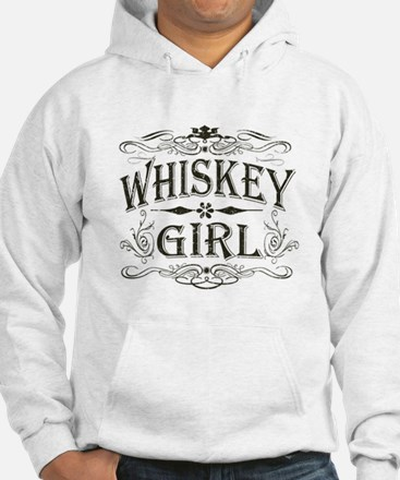 Vintage Whiskey Girl Jumper Hoody